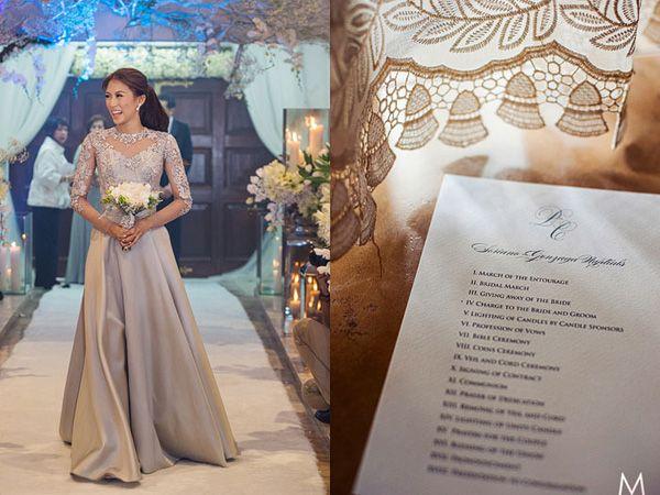 Celebrity Wedding Toni Gonzaga And Paul Soriano Wedding Ceremony Photos Wedding Ceremony Wedding Coverage Wedding Ceremony Photos