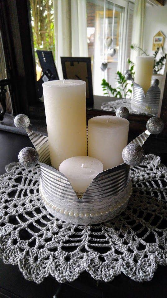 bildergebnis f r mit dosen kronen basteln basteln krone basteln basteln und blechdosen basteln. Black Bedroom Furniture Sets. Home Design Ideas