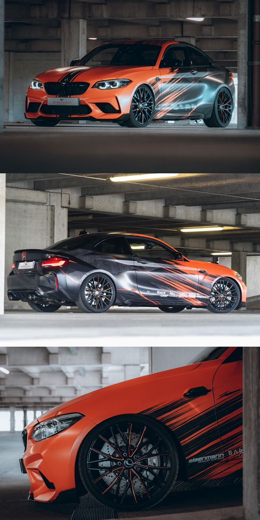 Bmw M2 Competition Gets Wild Makeover For Owners That Crave Attention In 2020 Bmw M2 Bmw Car