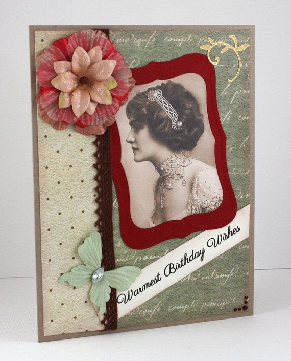 Victorian birthday cards birthday card handmade card victorian by victorian birthday cards birthday card handmade card victorian by cardsbygayelynn 650 bookmarktalkfo Images