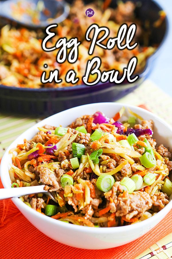 Easy 20-Min Egg Roll In A Bowl
