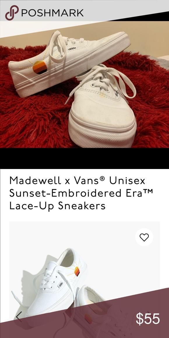 Madewell x vans sneakers in 2020