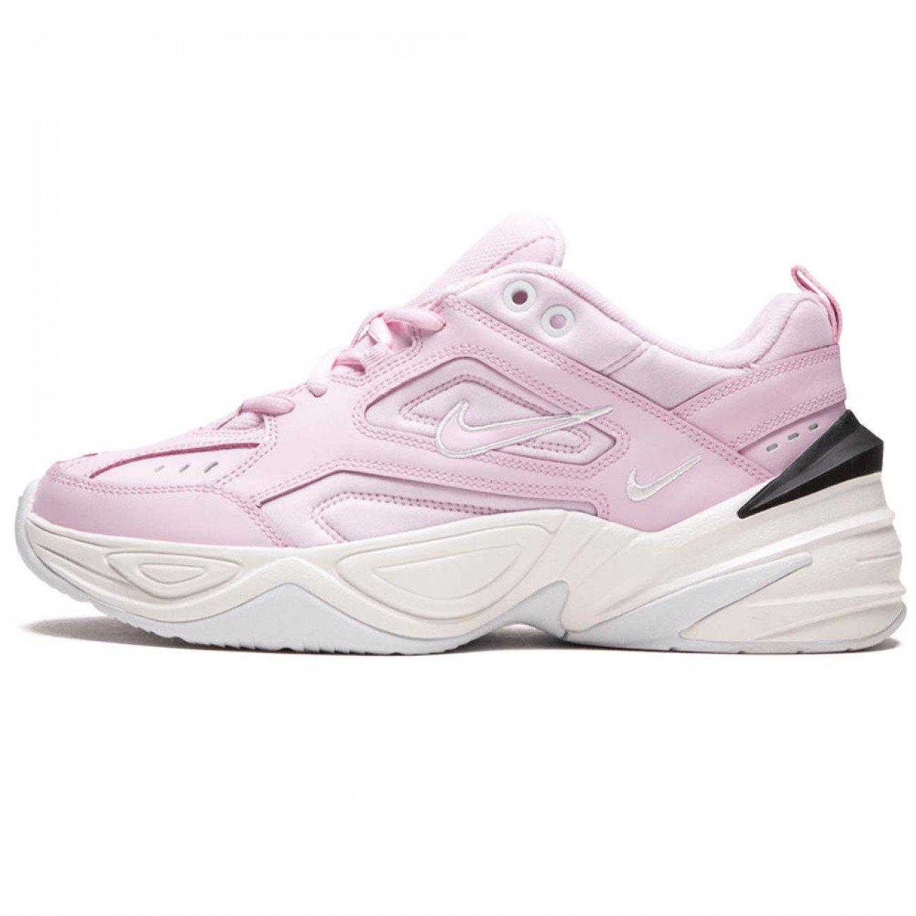 Nike M2K Tekno Pink Black Womens   Pink