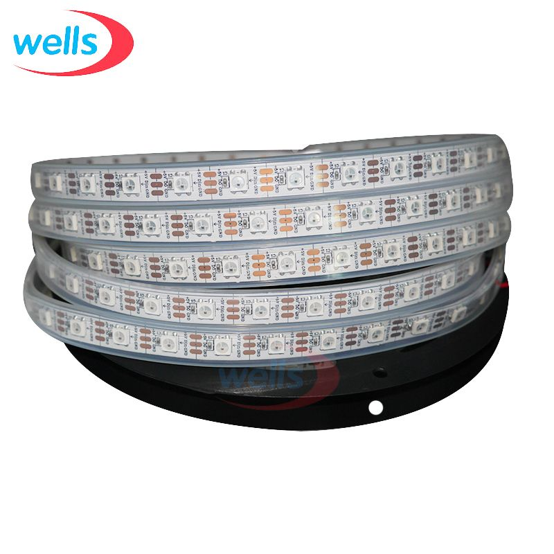 4m 60 Pixel M Silicon Coating Waterproof Ws2812b Ws2811 Led Strip Addressable 5v Affiliate Led Strip Lighting Strip Lighting Led