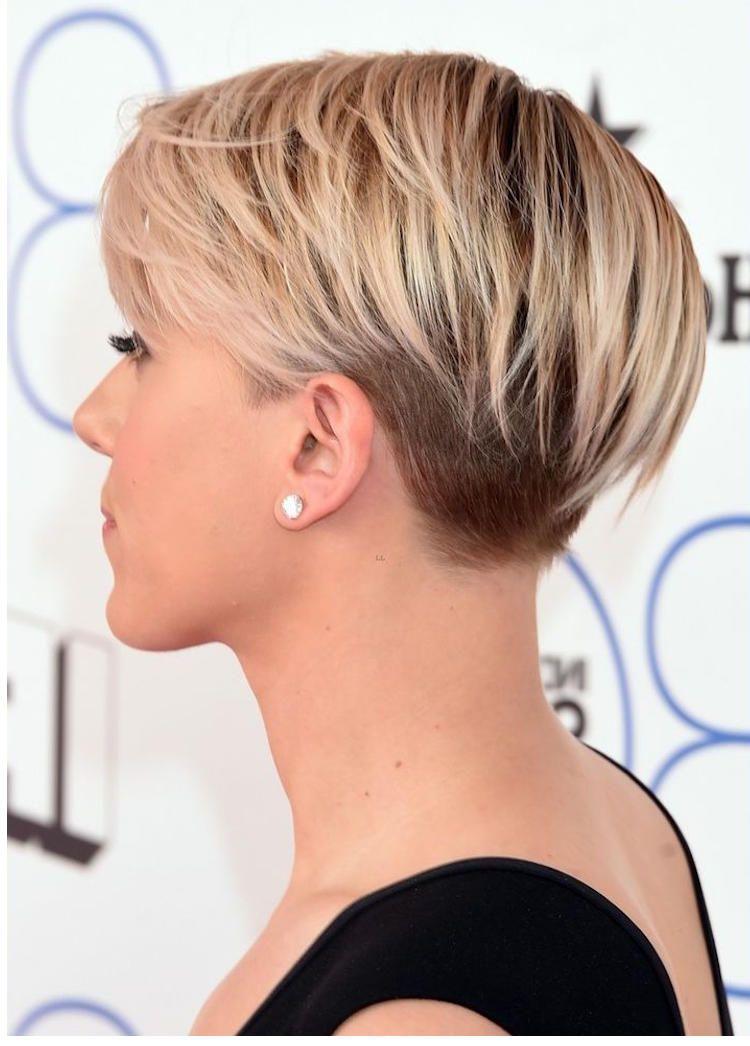 Damen Kurzhaarfrisur Trend Frisuren Fur Frauen 2018 Kurzhaarfrisuren Frisuren Haarschnitte Haarschnitt Kurz