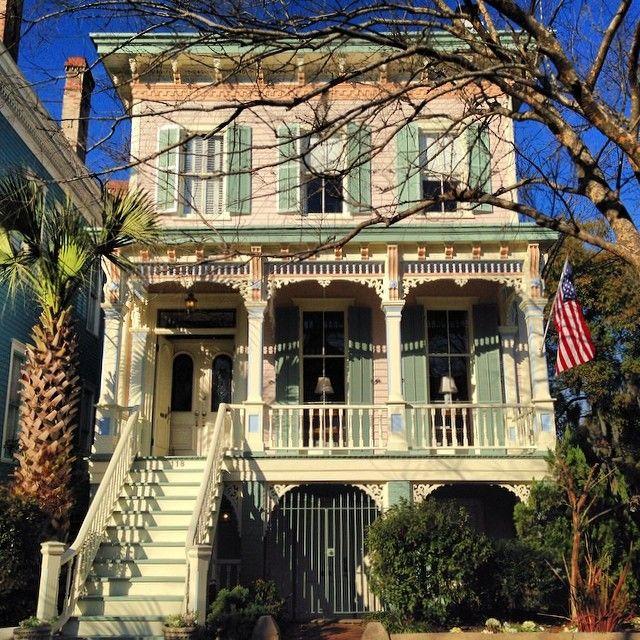 Catherine Ward House Inn In Beautiful Savannah, GA