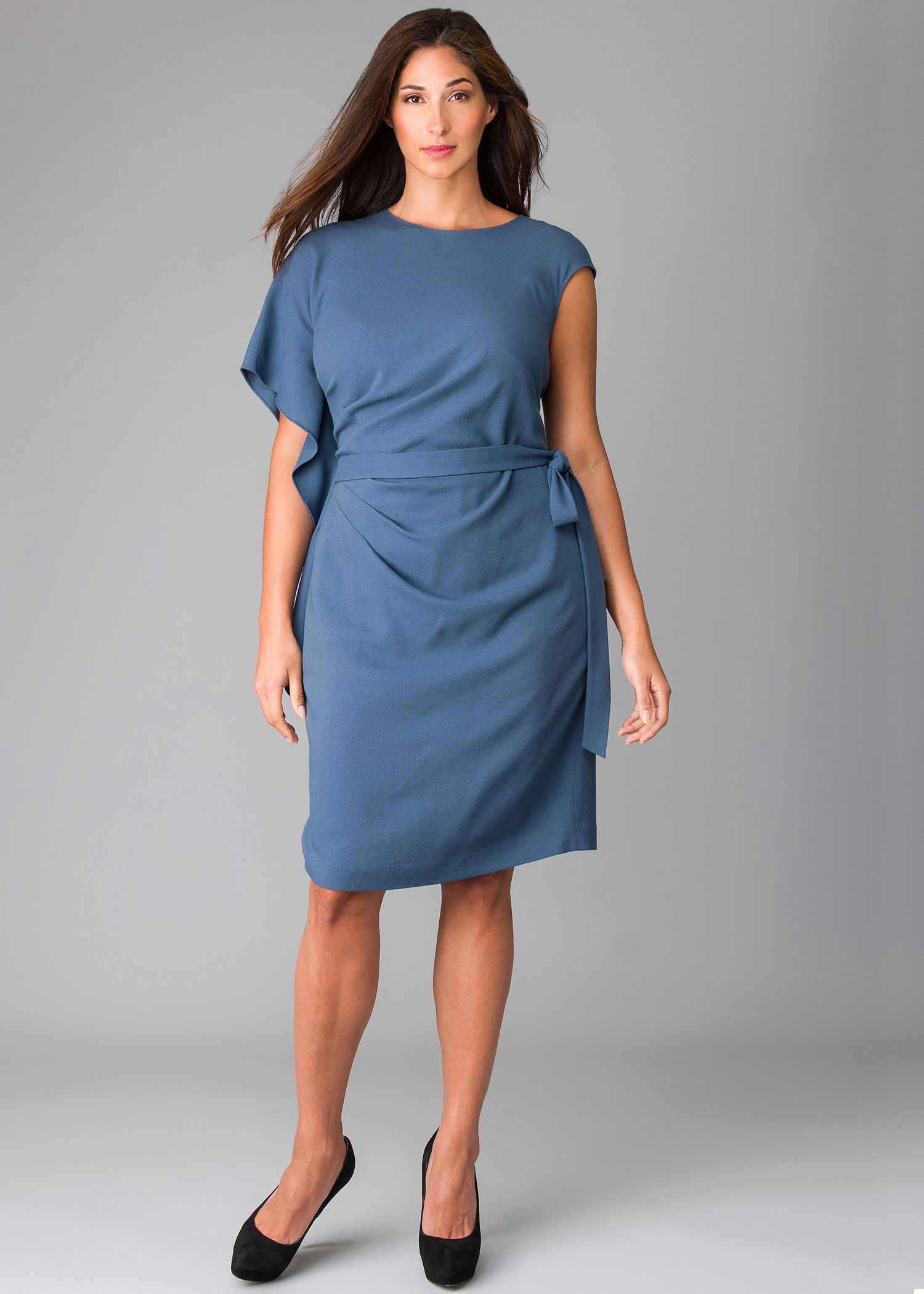Plus-Size Astute Crepe Weave Talulah Dress : Womens Dresses ...