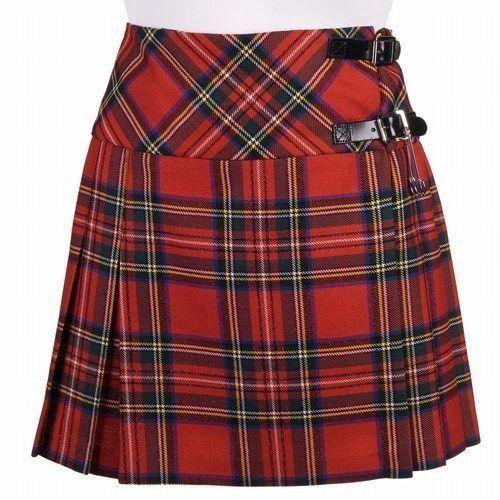 Tartanista 20 inch Irish Tartan Pleated  Kilt Skirt Size UK 10