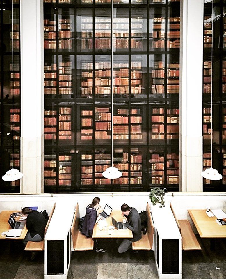use our app to find the best spots to work from The British Library London  by @the_last_dodo  #workhardanywhere