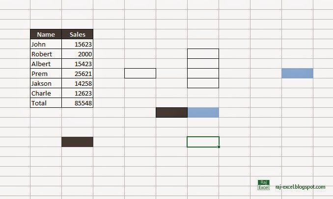 Raj Excel Clean excess cell formatting on a worksheet Raj Excel