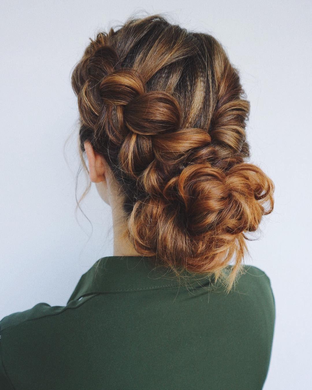 gorgeous braid hairstyle weekend hair dosbraids pull through