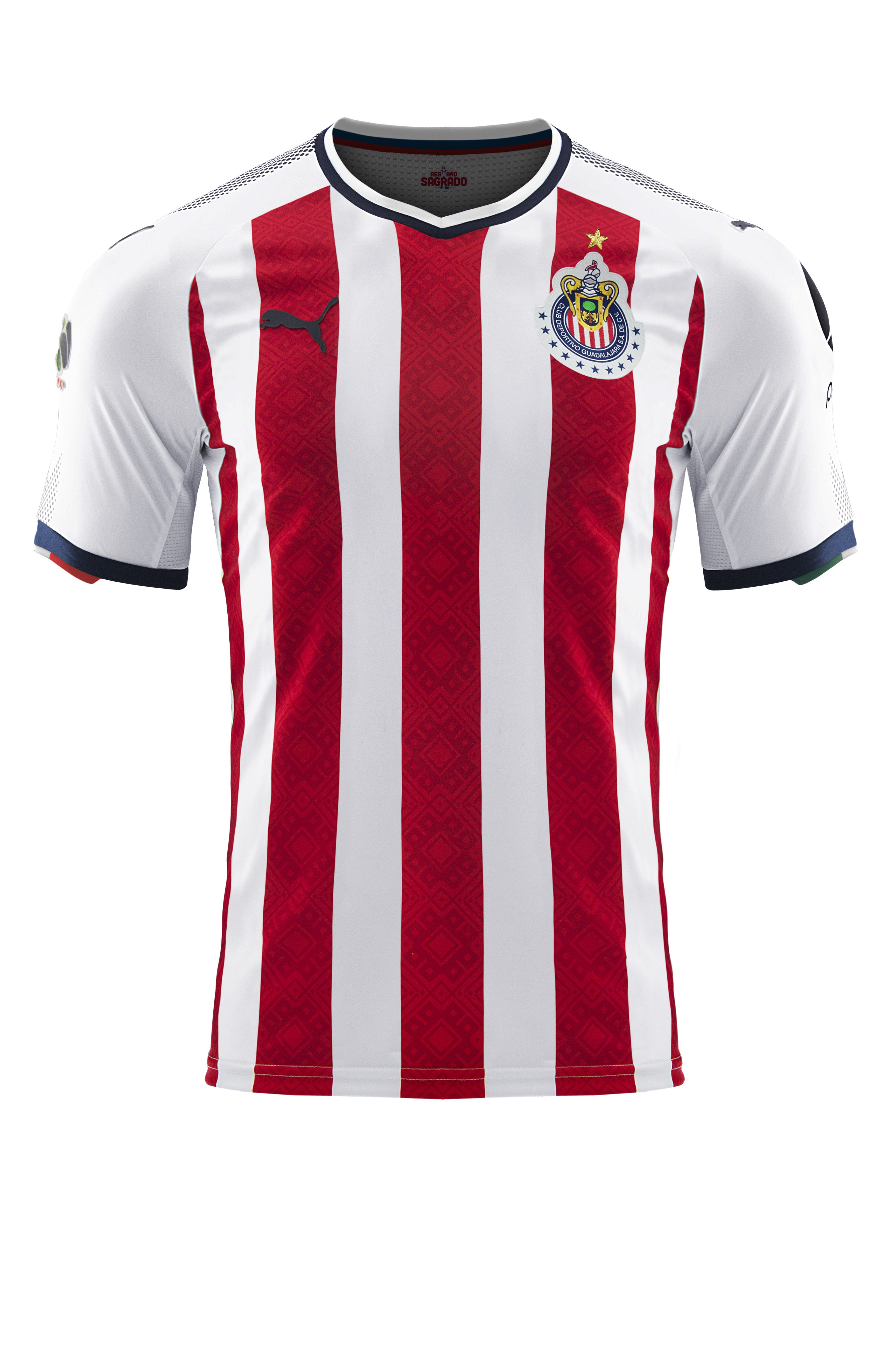 820213343 NEW PUMA Chivas Home Jersey 17 18