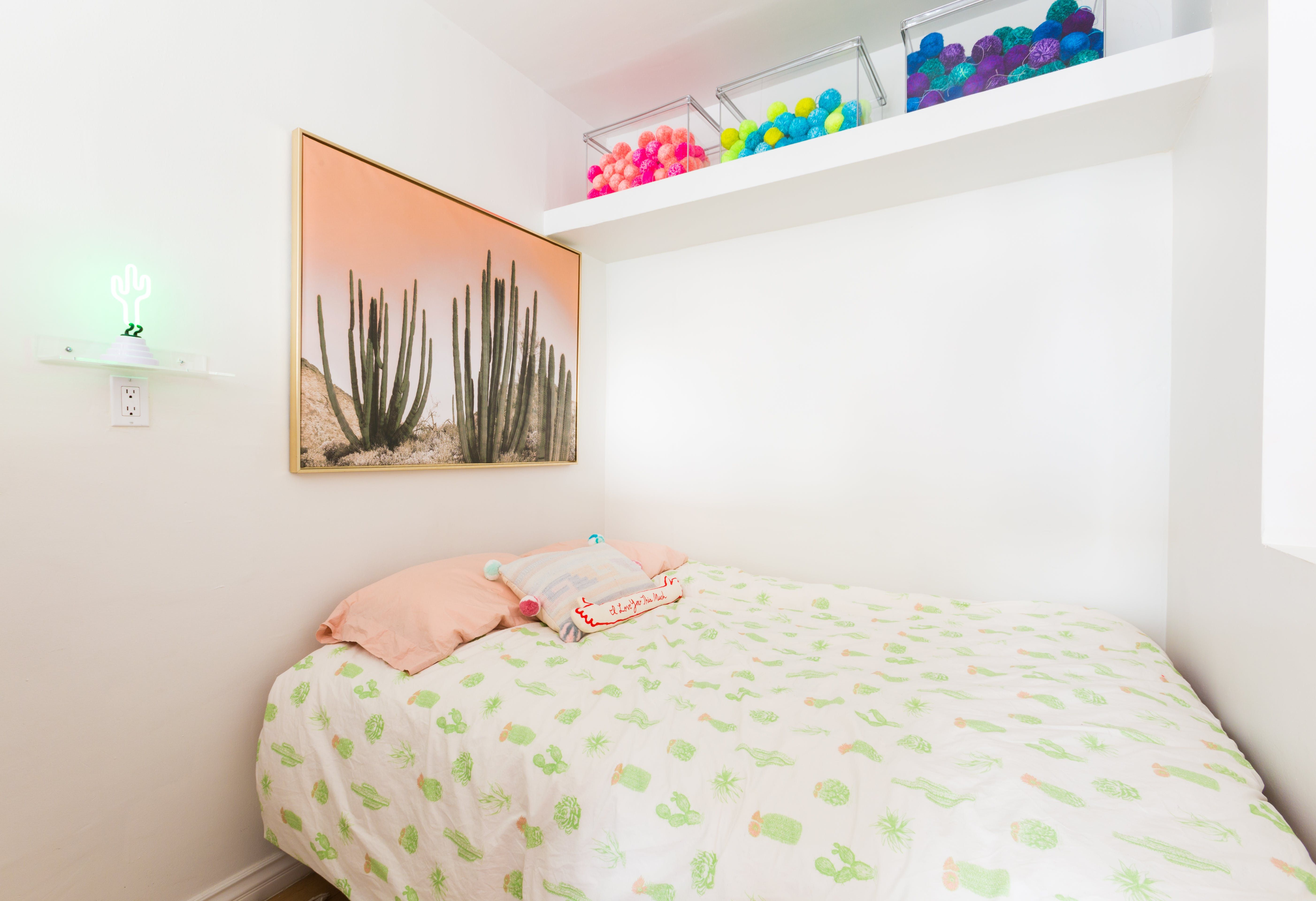 A Playful, RainbowHued LA Studio Apartment Is Tiny But