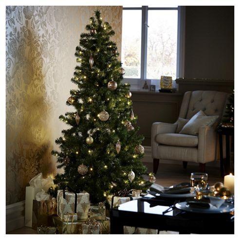 Tesco 6ft Pre Lit Evergreen Christmas Tree Xmas Tree Green Christmas Tree Christmas Inspiration