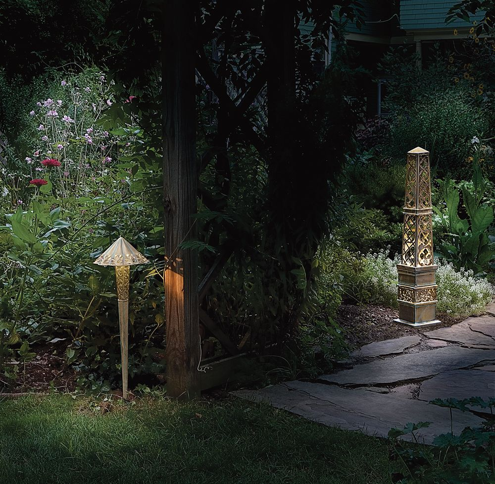 over 17 years of custom garden lighting design experience unique