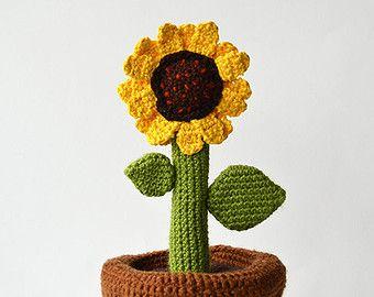 Amigurumi Cactus Crochet Pattern : Patrón de ganchillo pequeño cactus cactus de por vliegendehollander