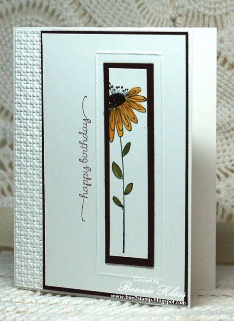 Card Recipe Stamps Garden Poems Penny Black Sentiment Hero Arts Ink Tux