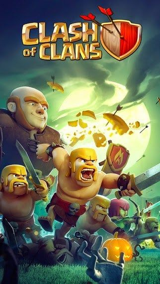 Abstract clash of clan wallpaper for Android/Iphone | Mobile