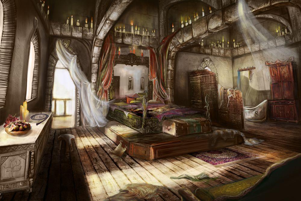 helgas-room1000.jpg (1000×667) | Fantasy concept art ...
