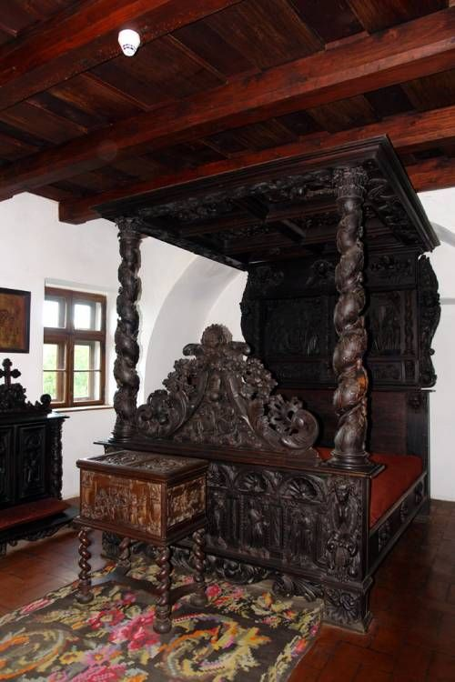 The real dracula castle inside
