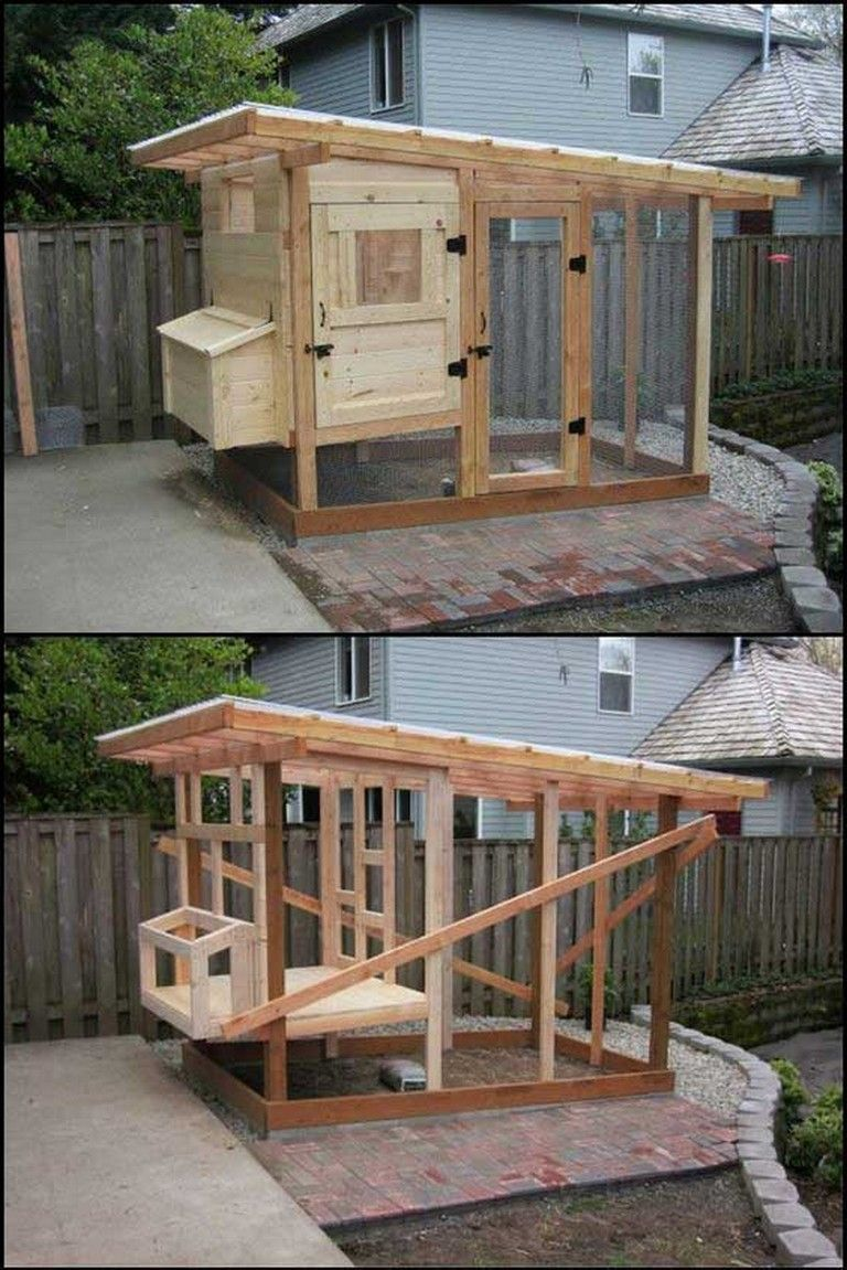 Creative Low Budget Diy Backyard Chicken Coop Plans Creative Low