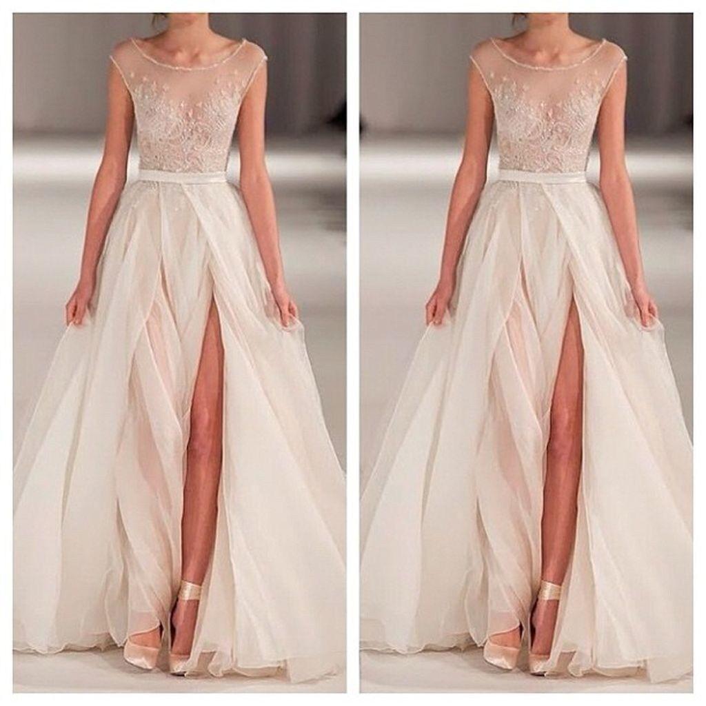 Non Traditional Wedding Dress Boho: 83 Beautiful Non Traditional Wedding Dress Ideas Every