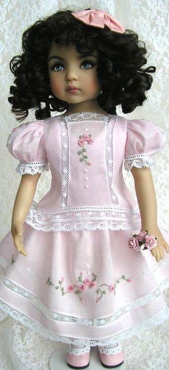 lovely heirloom 18 doll dress sew for ag dolls pinterest rh pinterest com
