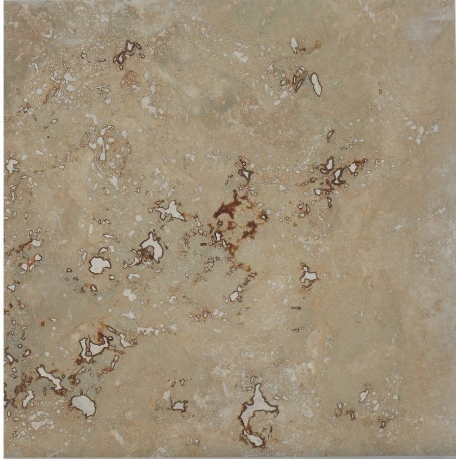 Shop faber 4 pack 18 in x 18 in walnut travertine natural stone shop faber x walnut travertine natural stone floor tile at lowes canada find our selection of floor tile at the lowest price guaranteed with price match dailygadgetfo Image collections