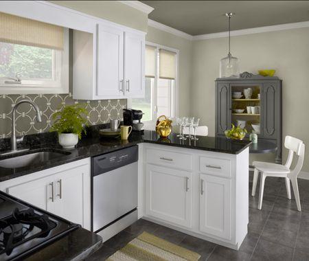 dosseret au pochoir d co peinture pinterest peinture cuisine peinture et couleur. Black Bedroom Furniture Sets. Home Design Ideas