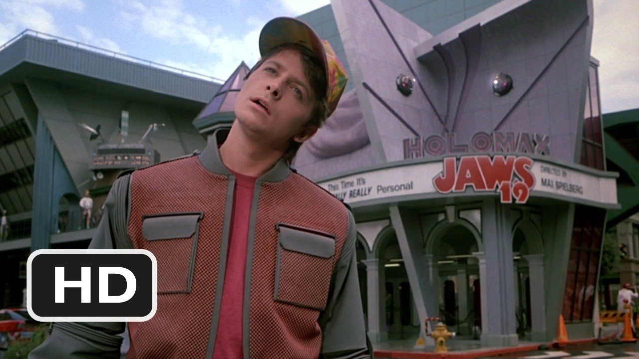 Back To The Future Part 2 2 12 Movie Clip Hill Valley 2015