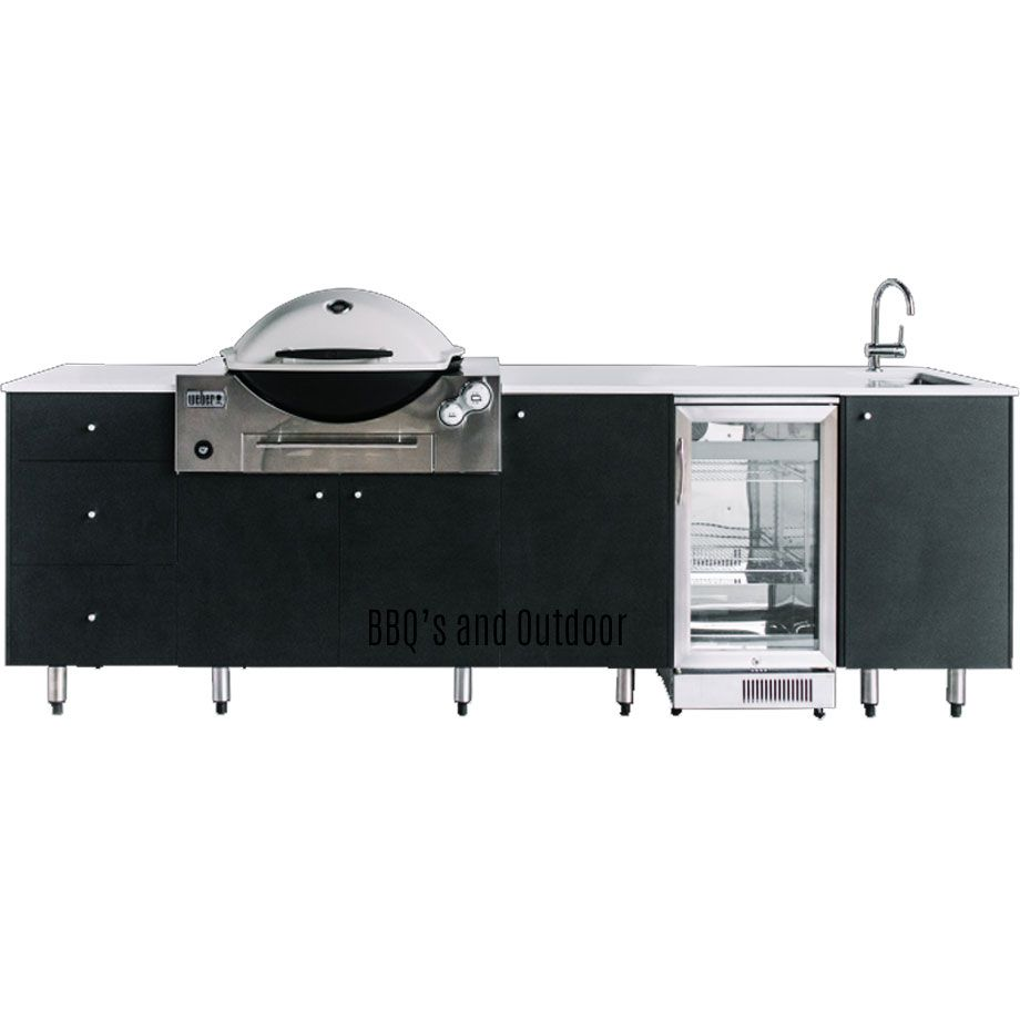 Outdoor Kitchen Cabinets Brisbane Image Result For Outdoor Kitchens For Weber Q Built In Barbecue