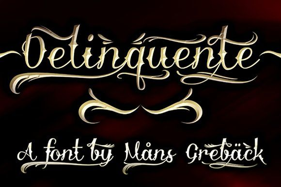 Delinquente by Mans Greback on @Graphicsauthor