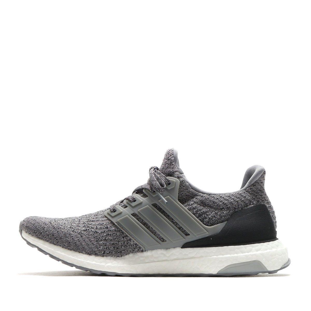 5475fd90089c8 NEW Adidas Ultra Boost 3.0 Grey Three Gray Black White S82023 Men s ...