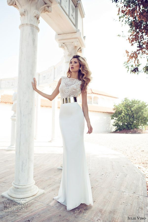 Top 16 Julie Vino Designer White Wedding Dresses