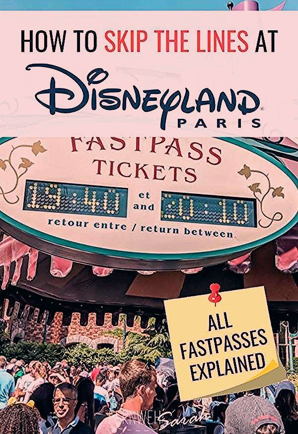 Disneyland Paris Fastpasses explained - How to skip the queues in 2019!