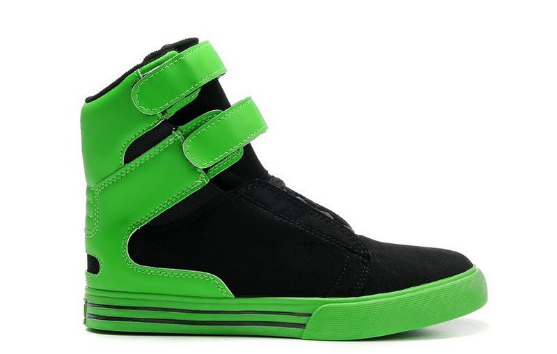 4349e02bef1 Supra TK Society X-Games Neon Green Black Cheap | ☆Everything Shoes ...