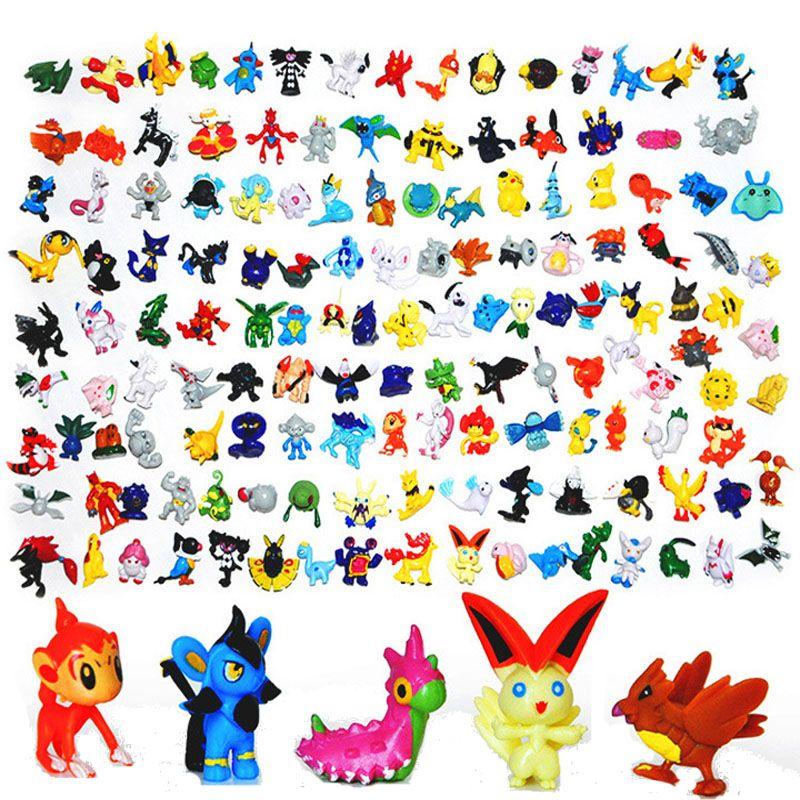 Japanese Pikachu Figures Set 144pcs 2016 New Pikachu