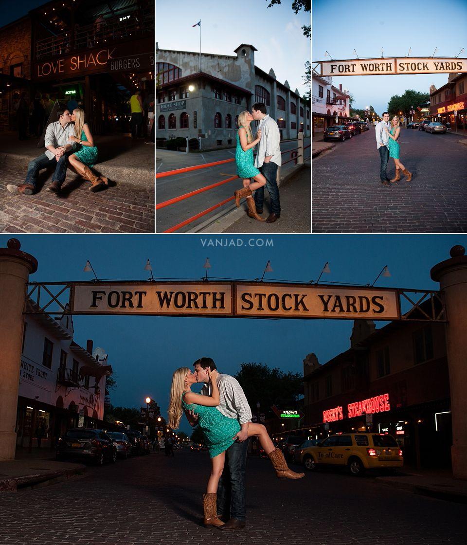 Tcu And Stockyards Fort Worth Engagement Photographer Jennifer Christopher Fort Worth Stockyards Fort Worth Engagement Photos