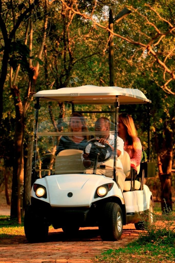 Not up for a walk? Hop on the NEW shuttle service offered exclusively to guests staying at the Victoria Falls Safari Suites.