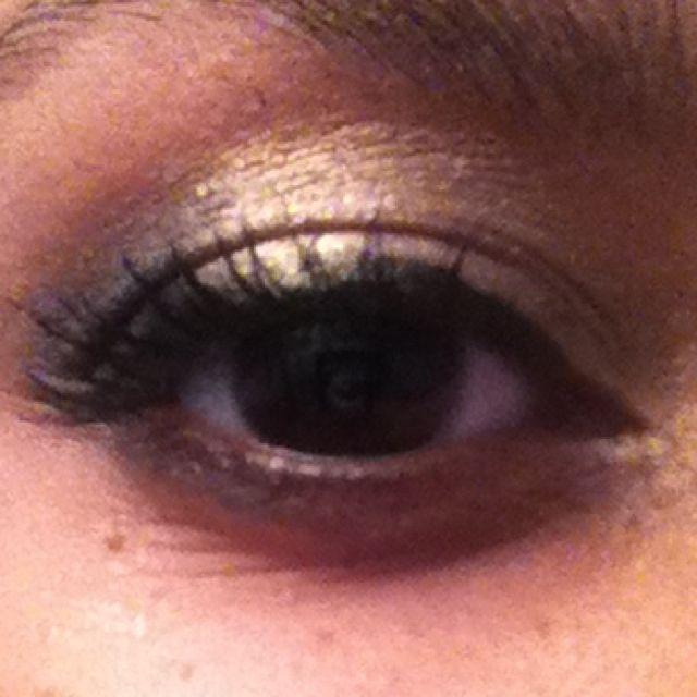 New years eye makeup!