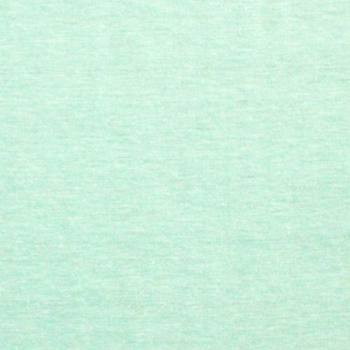 Heather Mint Green Solid Cotton Jersey Knit Fabric 5 50