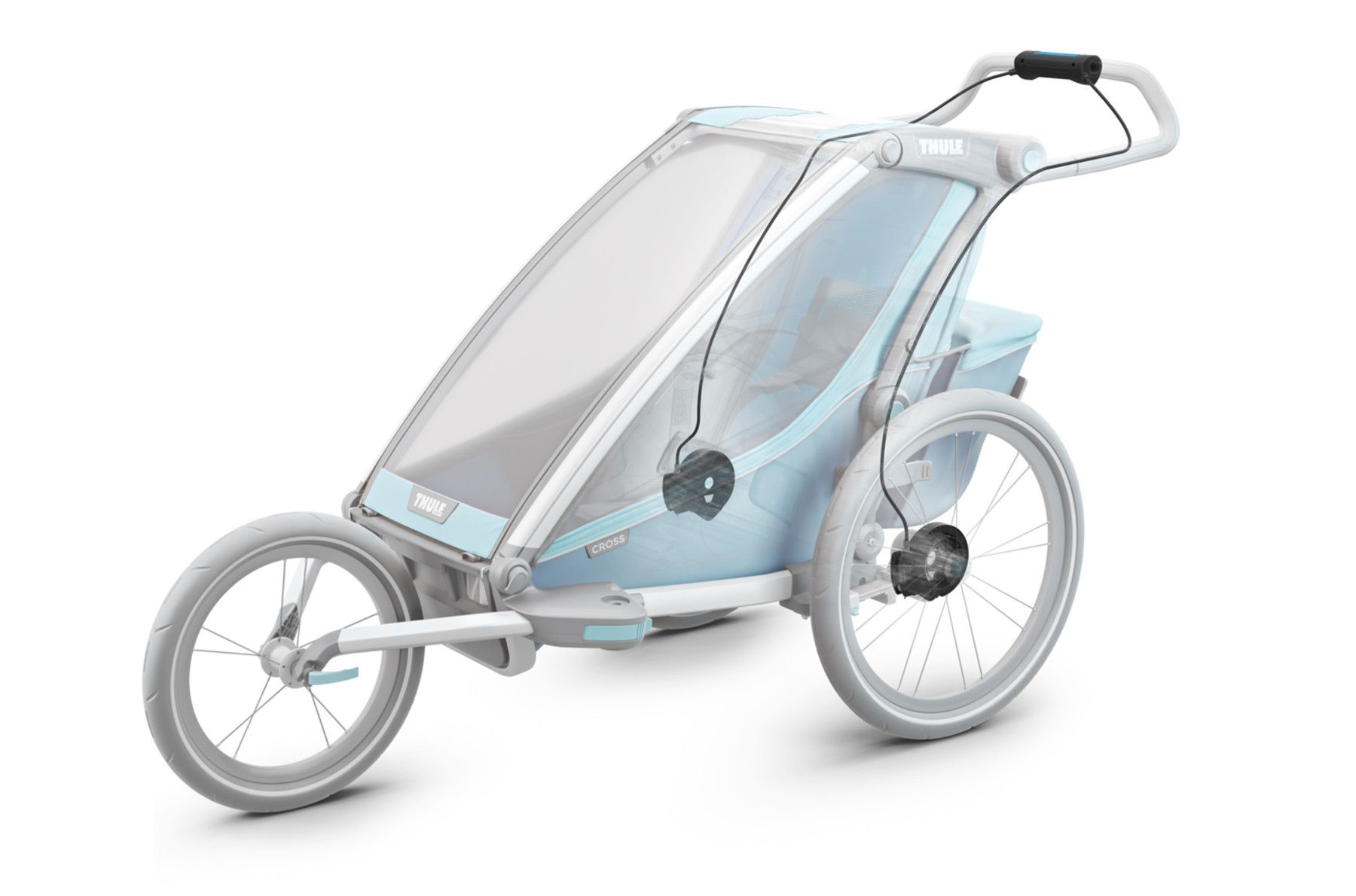 Chariot Brake Kit Buggy Kinderwagen Transporter
