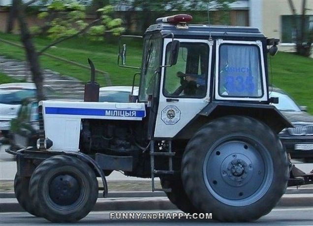 tractor sirenes