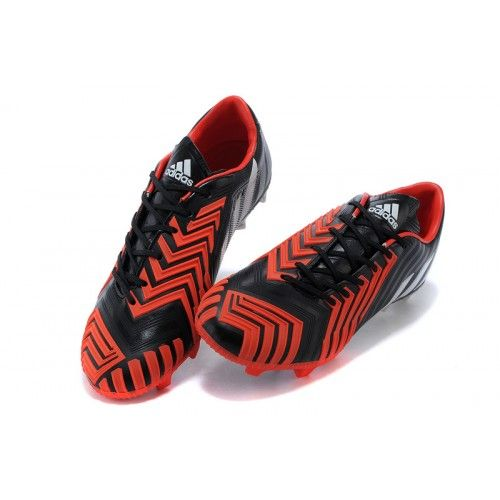 Adidas Predator Instinct FG-rouge/noir/blanc