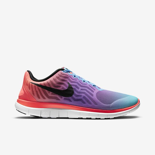 Femmes Nike Free 4.0 V5 Print Chaussures De Course