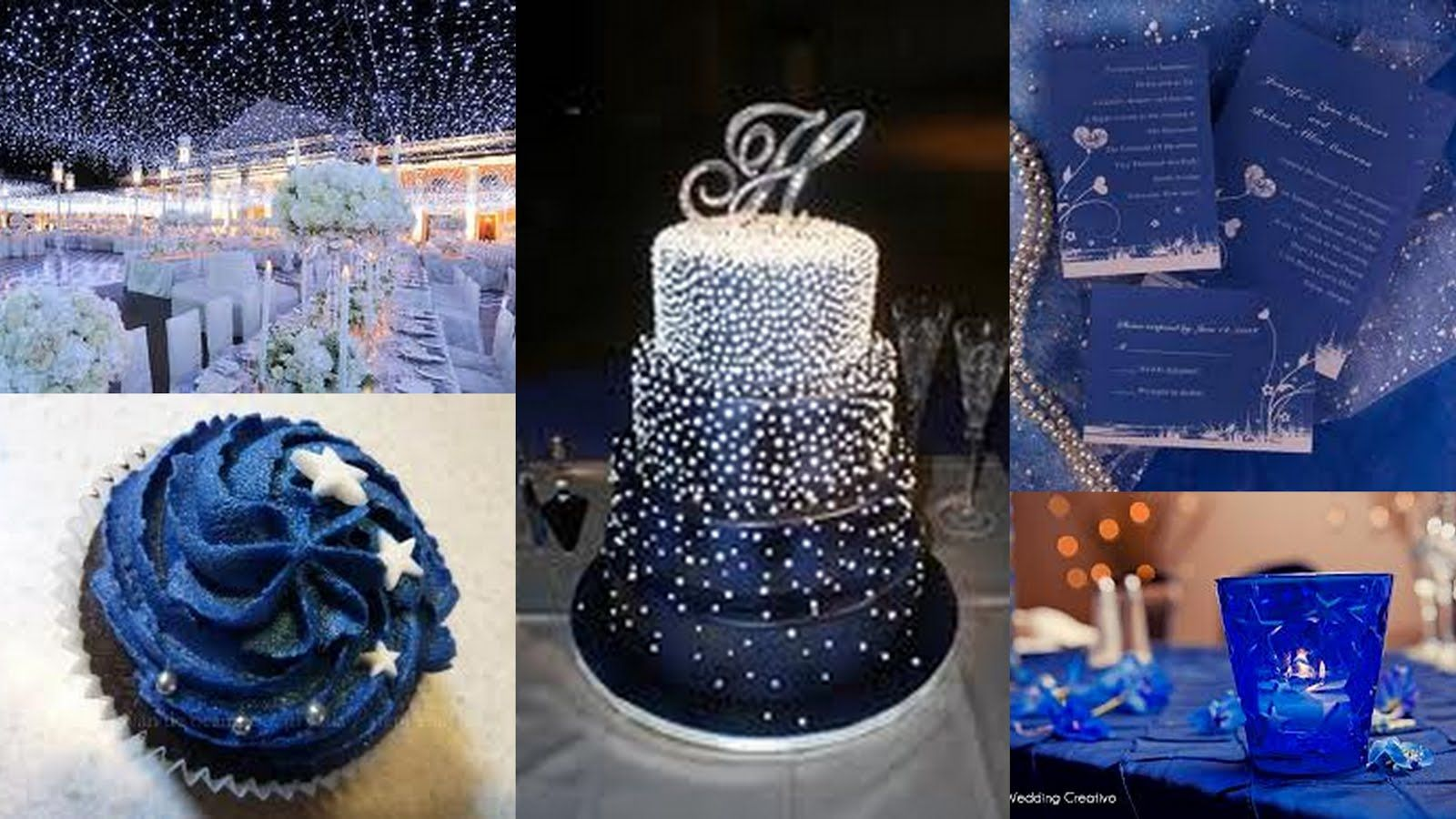 Starry night weddingparty ideas blue pinterest starry