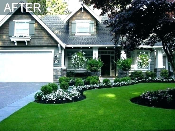 Front Yard Landscape Ideas Ranch Style House Ranch House