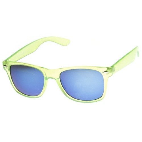 Ice Pop Candy Color Translucent REVO Wayfarer Sunglasses