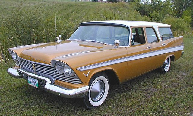 1957 Plymouth Suburban Station Wagon By Hartog Via Flickr Station Wagon Cars Wagon Cars Station Wagon