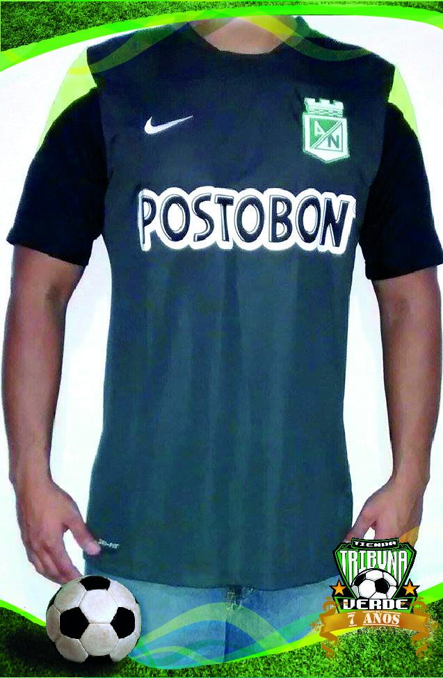 Camiseta Nike M C Entrenamiento Gris Atlético Nacional 2014 Producto  Original Talla S M L XL Precio   104.900 3830e516039e7